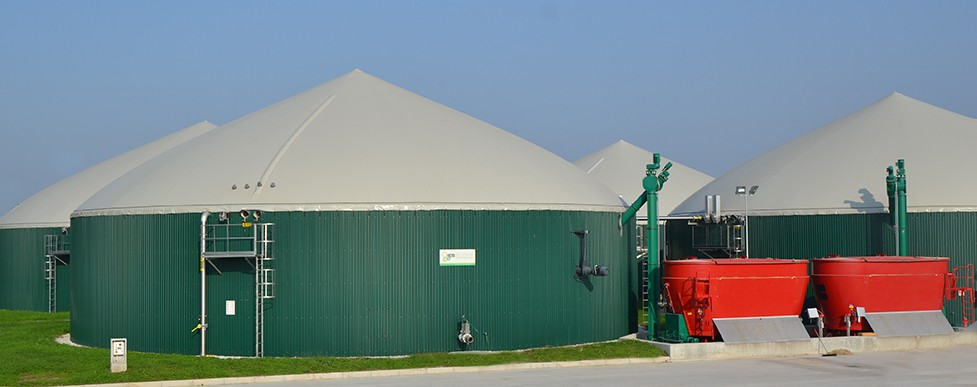 Impianti a biogas, Regione Veneto ed Emilia Romagna